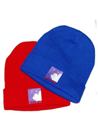 Bronx Knitted Hat - Red only