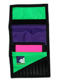BHPA Velcro Pocket Wallet - Multi-coloured (28)